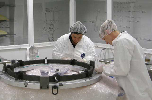 manufacturing parts for commercial aerospace - Matrix Composites
